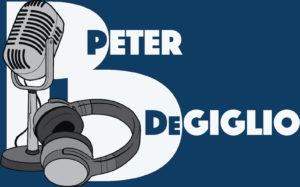 Voice Talent Peter DeGiglio logo