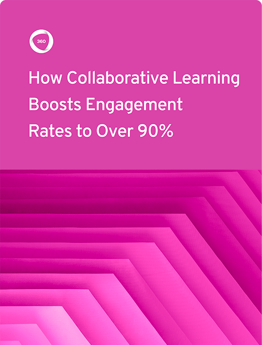 How Collaborative Learning Boosts Engagement Rates To Over 90%