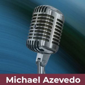 Michael Azevedo, eLearning Narrator logo