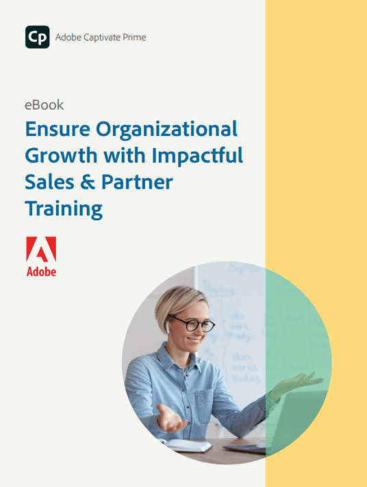 eBook Release: Ensure Organizational Growth With Impactful Sales & Partner Training