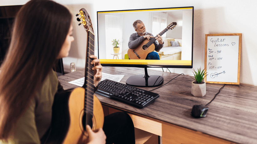 Taking Musical Instrument Courses Online