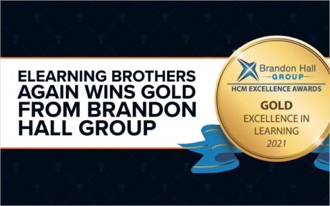 eLearning Brothers Again Wins Gold From Brandon Hall Group